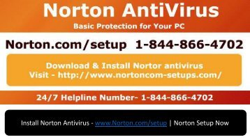 Norton Setup & Installation Support- www.norton.comsetup