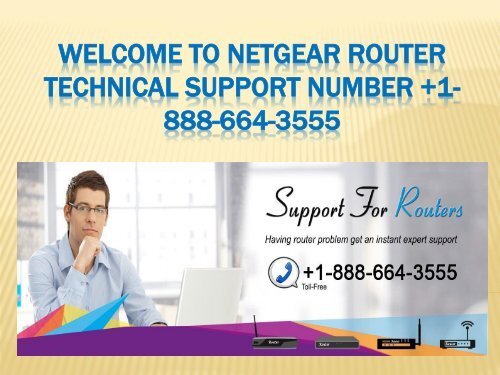 Netgear router technical Support Number