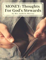 Money by Rev Andrew Murray