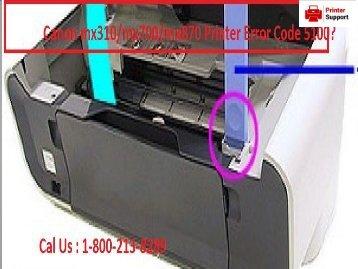 Canon mx310mx700mx870 Printer Error Code 5100 18002138289