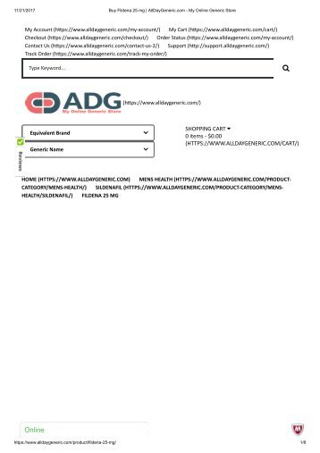 Buy Fildena 25 mg _ AllDayGeneric
