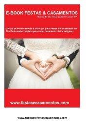 Ebook Festas & Casamentos