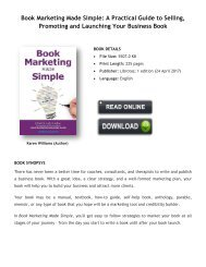 Book Marketing Made Simple: A Practical Guide to Selling,  Promoting and Launching Your Business Book