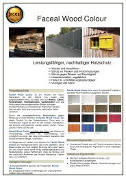Faceal Wood Colour - PSS Interservice, All Remove