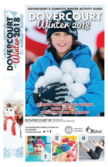Dovercourt Winter 2018 guide