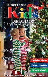 Hampton Roads Kids' Directory: December 2017
