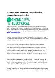 Electrical Services Burlington
