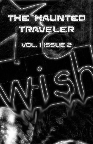 The Haunted Traveler Vol 1 Issue 2