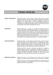 FACEAL OLEO HD® - PSS Interservice, All Remove