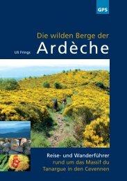 Die wilden Berge der Ardèche (Auszug, Blick ins Buch)