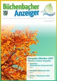 Oktober 2017 - Büchenbacher Anzeiger