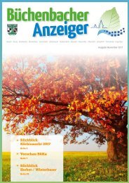 November 2017 - Büchenbacher Anzeiger