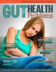 Gut Health Problems December 2017