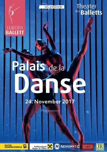 Palais de la Danse Programmheft