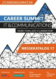 Career Summit IT & Communications 2017