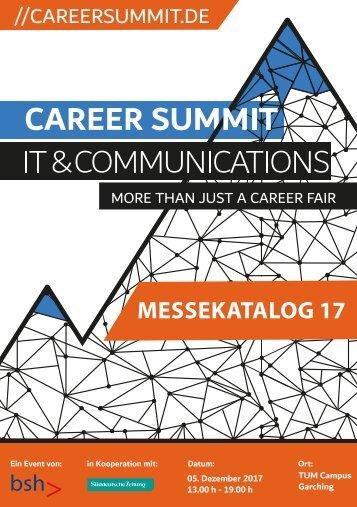 Career Summit IT & Communications 2017