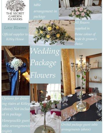 Wedding Package flowers