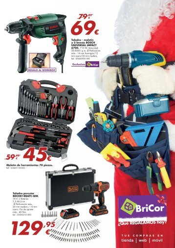 BriCor ofertas hasta 5 de Enero 2018