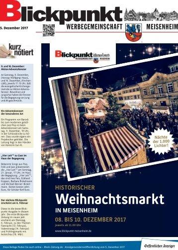 Blickpunkt Ausgabe 12/2017