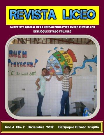 REVISTA LICEO DIC2017