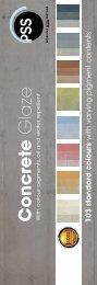 Concrete Glaze