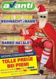 Hier kommt der Weihnachtsmann - arriva il babbo natale