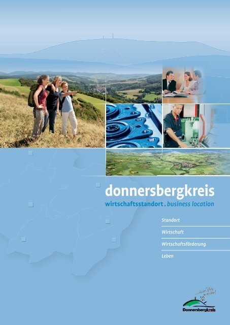 Donnersbergkreis - Wirtschaftsstandort. Business location.