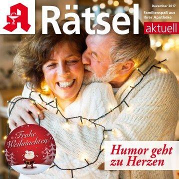 """Leseprobe """"Rätsel-aktuell"""" 2017"""