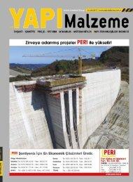 Yapı Malzeme Dergisi Aralık 2017 Sayısı