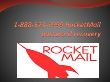 rocketmail password recovery
