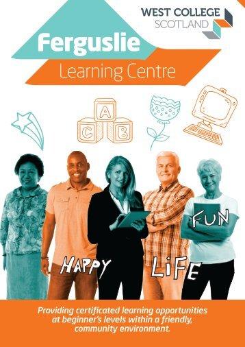 Ferguslie Learning Center Booklet January 2018 - web