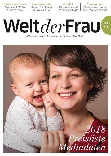 Welt der Frauen_Mediadaten_Anzeigenpreisliste_2018 L4