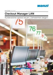 Checkout Manager LAN