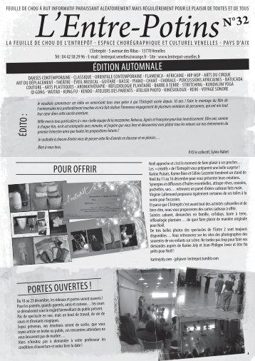 L'Entre-Potins n°32 édition automnale