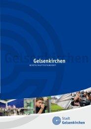 Wirtschaftsstandort Gelsenkirchen - englische Fassung