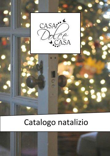Catalogo natalizio Casa Dolce Casa