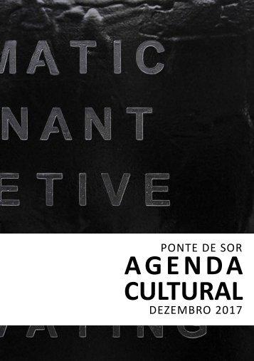 Agenda Cultural de dezembro 2017