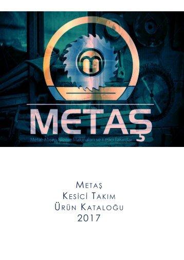 Metaş Kesici Takım Katalog 2017-1-12