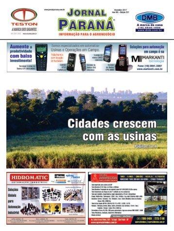 Jornal Paraná Dezembro 2017