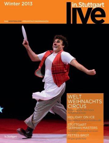 live in.Stuttgart Winter 2013