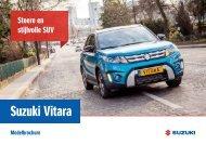 Suzuki Vitara modelbrochure