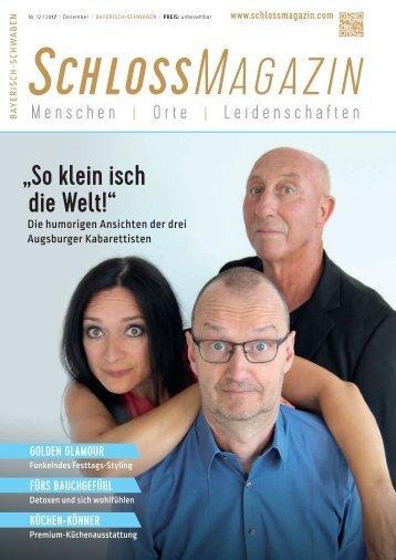 SchlossMagazin Bayerisch-Schwaben Dezember 2017