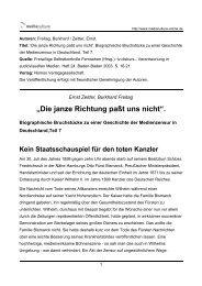 """Die janze Richtung paßt uns nicht"". - Mediaculture online"