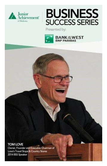Business Success Series Brochure 2018