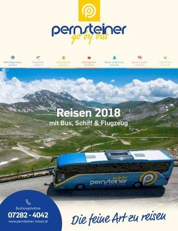 Pernsteiner Reisen - Reisekatalog 2018