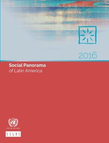 Social Panorama of Latin America 2016