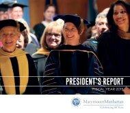 2014-15 President's Report