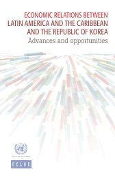 Economic relations between Latin America and the Caribbean and the Republic of Korea: Advances and opportunities