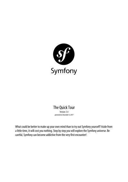 Symfony_quick_tour_3.4