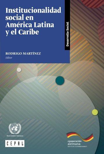 Institucionalidad social en América Latina y el Caribe
